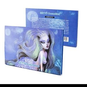 New SEYTU Mermaid Eyeshadow Palette